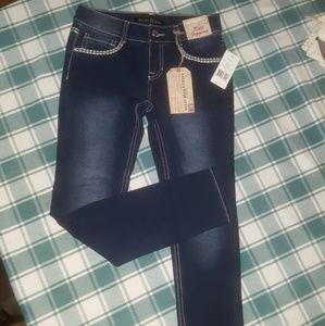 Girls skinny leg jeans